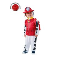 Paw Patrol Marshall Classic Costume Kit With Safety Light - Infant 6-12m