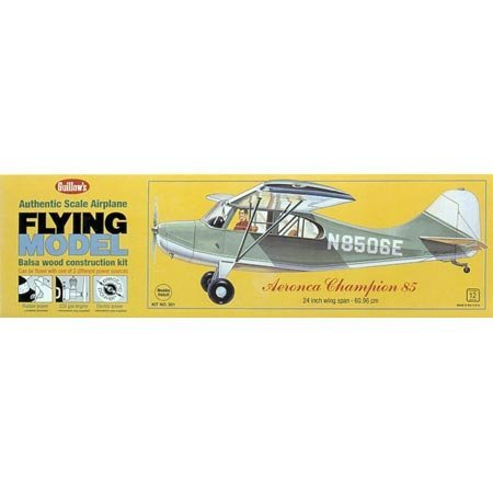 Aeronica Champion 85 Balsa Model Airplane by Guillows