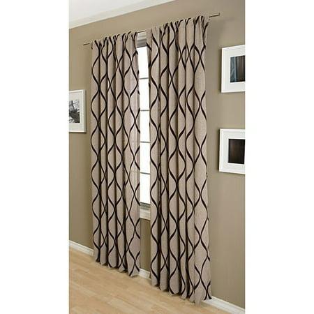 Softline Sahara Rod Pocket 108 Inch Curtain Panel