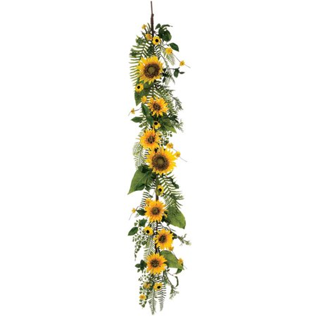 Sullivans Artificial Sunflower Garland Walmart