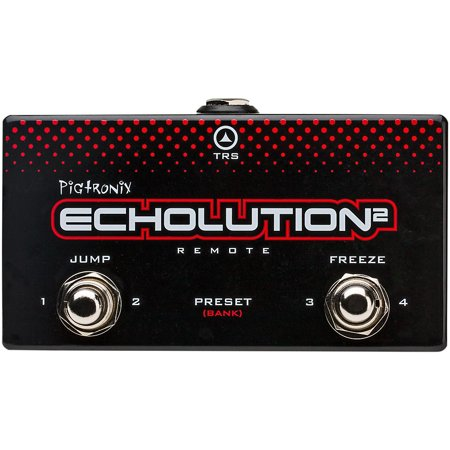 Pigtronix Echolution 2 Remote Two Button Momentary Controller