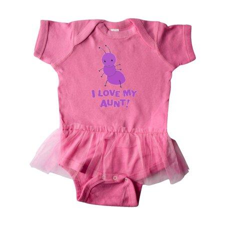 (I Love my Aunt Infant Tutu Bodysuit)