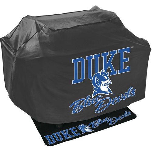 Mr. Bar-B-Q NCAA Grill Cover and Grill Mat Set, Duke University Blue Devils