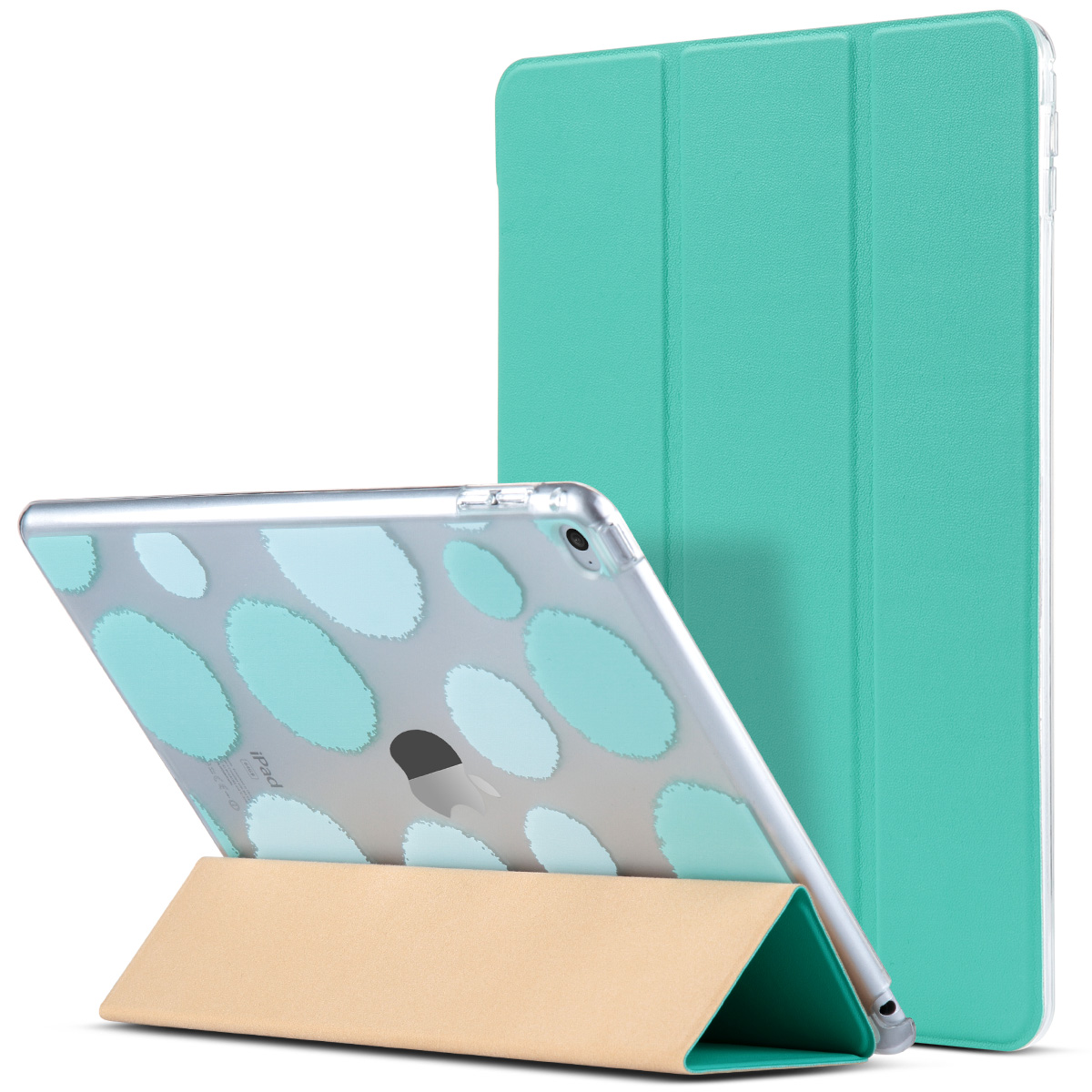 ipad air 2 case ulak polka dot folio slim smart case cover with