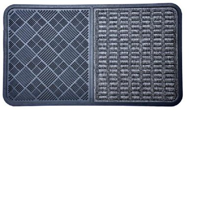 Tapis de porte gris en caoutchouc Decor 864SMT Imports - image 1 de 1