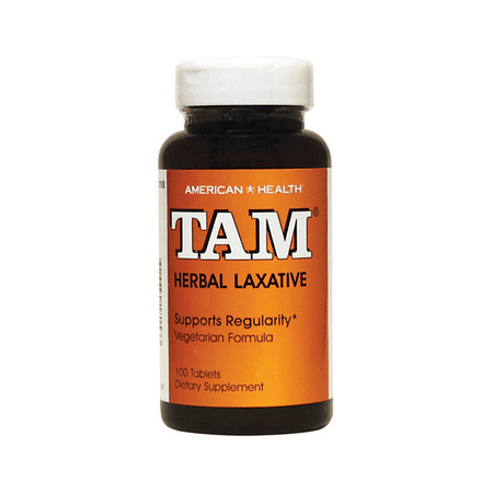 American Health Tam Herbal Laxative -- 100 Tablets []