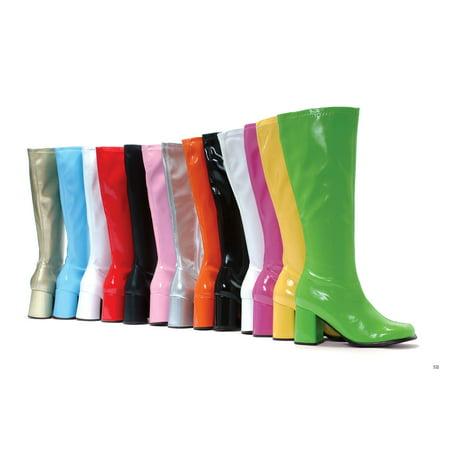 Silver Costume Boots (Ellie Shoes E-Gogo 3