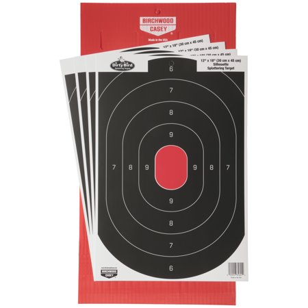 Birchwood Casey Sharpshooter Tab-Lock Dirty Bird Target (Shooting Tab)