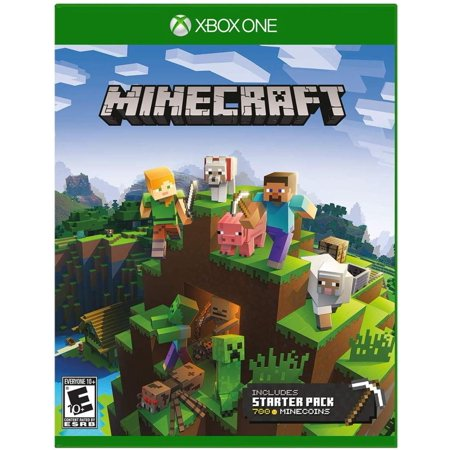 Minecraft Starter Collection - Xbox One, This collection includes: The Minecraft base game, 700 Minecoins and the Starter Pack DLC, an amazing selection.., By by (The Amazing Spider Man 100 Save Game)