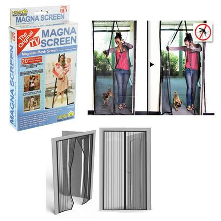 1 Pc Magna Screen Door Net Protector Hands Free Magnetic