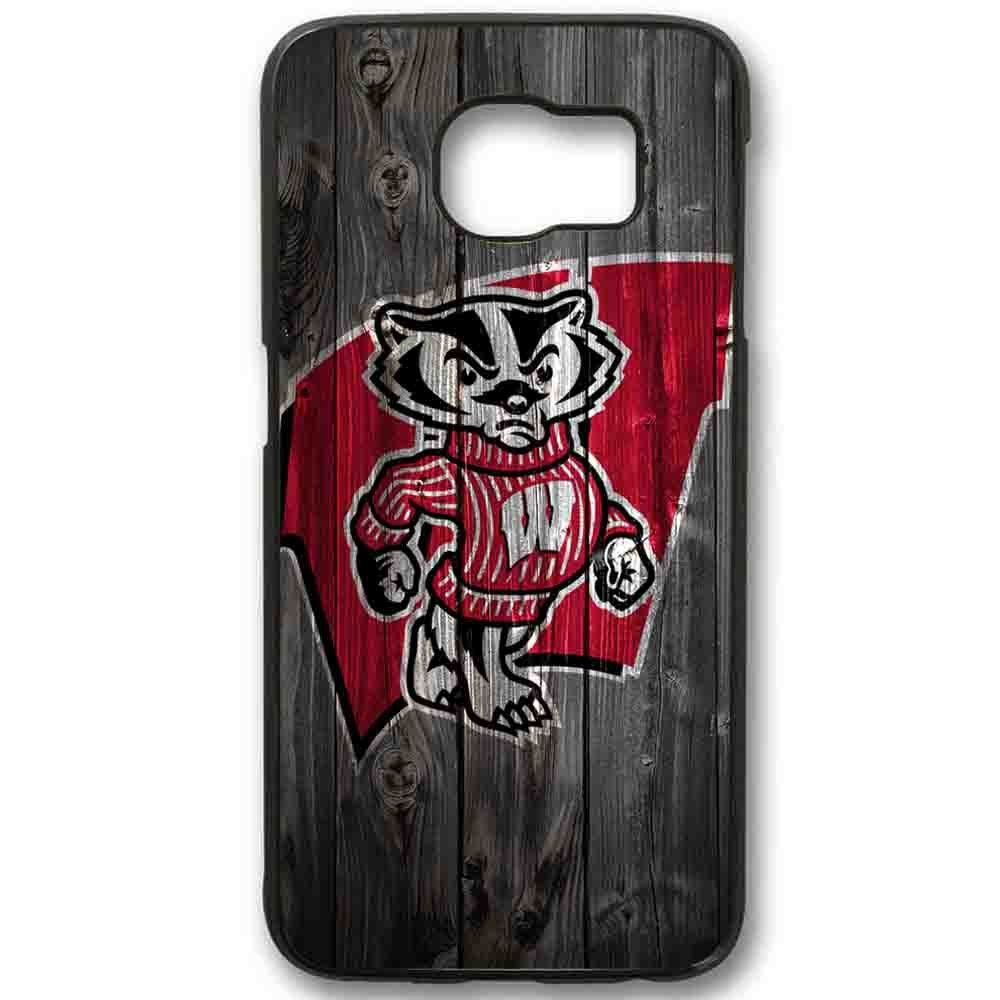Ganma Wisconsin Badgers Case For Samsung Galaxy Case (Case For Samsung Galaxy S5 White)