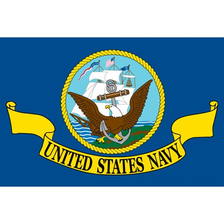 United States Navy Flag On A Stick 12