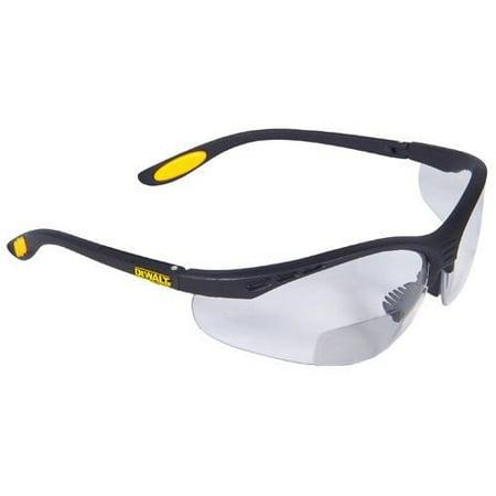 DeWalt Reinforcer Rx Bifocal Safety Glasses Smoke