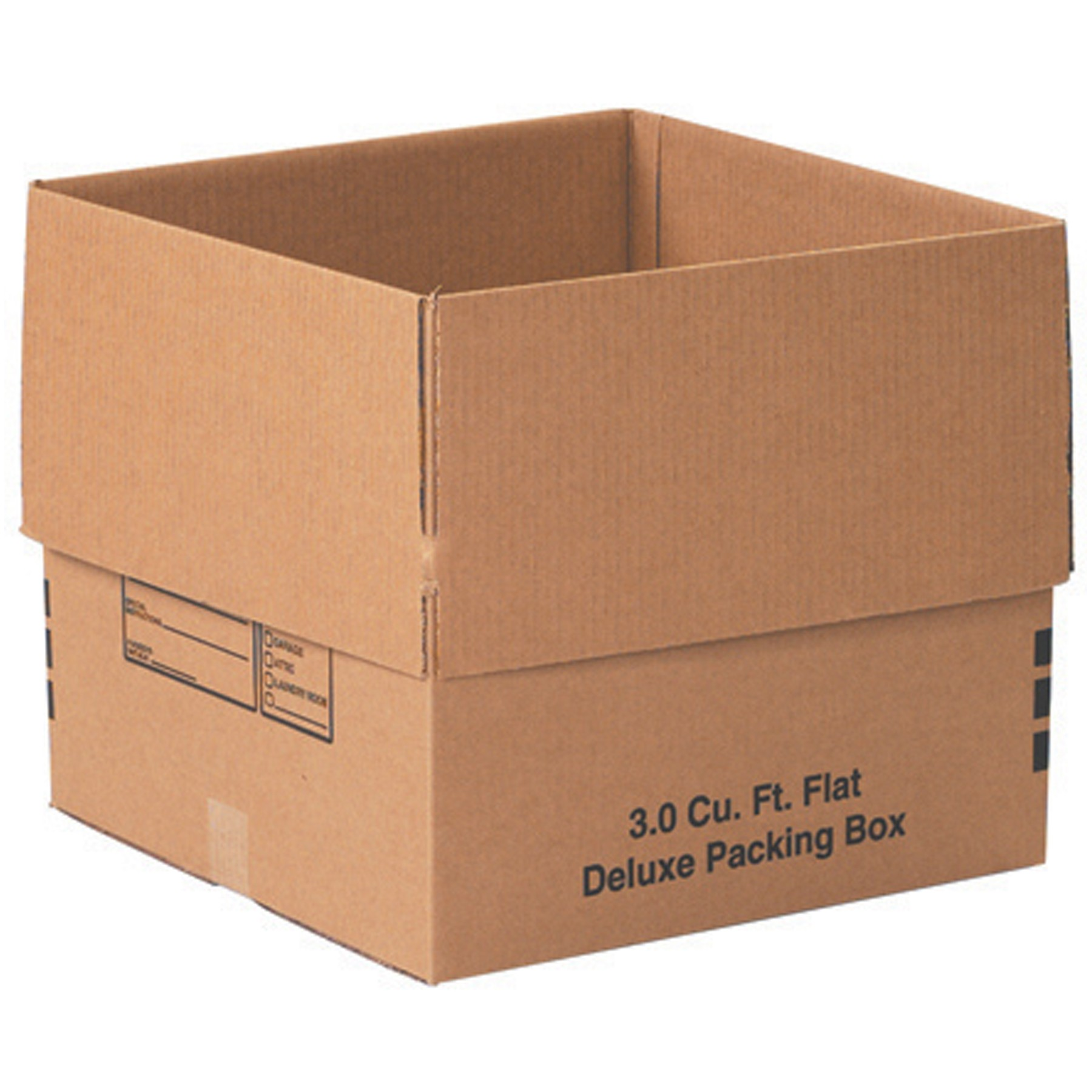 "12 Premium Medium Moving Boxes 18x18x16"" Cardboard Box - Walmart.com"
