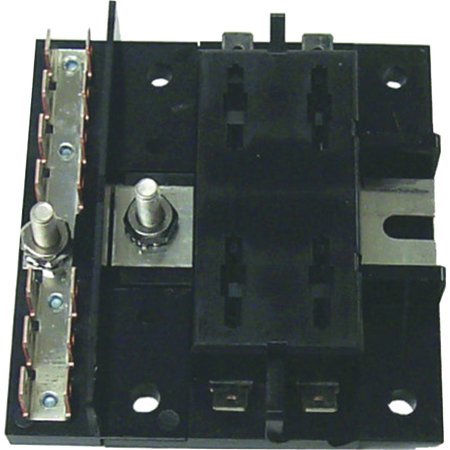 Sierra FS40430 4 Gang ATO/ATC Fuse Block without Ground Bar