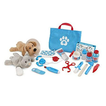 Melissa & Doug Examine And Treat Pet Vet Play Set (24 Pcs) - image 4 of 4