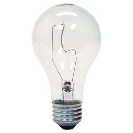 Ge 97470 A19 Soft Crystal Clear Standard Light Bulb E26