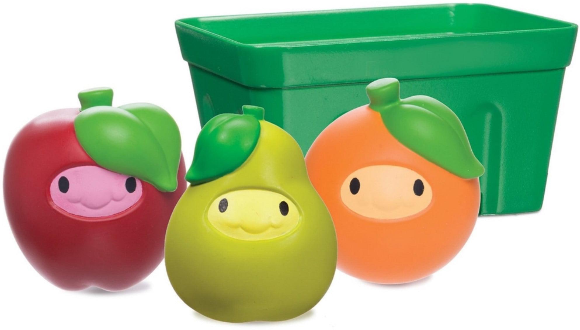 Munchkin Squirt & Strain Fruity Friends Basket Bath Toy 1 ea (Pack of 6) by Munchkin