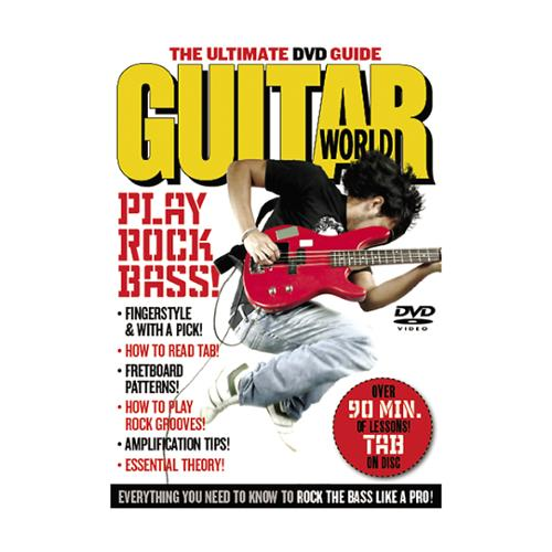 Alfred Guitar World:Play Rock Bass (DVD)