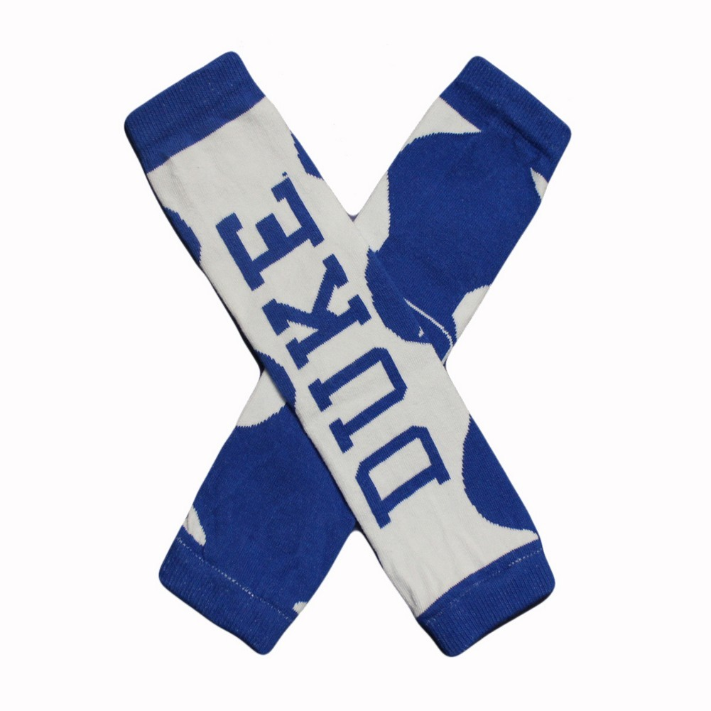 Little Big Fan Duke Univ Arm & Leg Warmers - Lrg Logo Blue