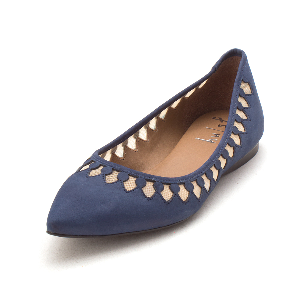 French Sole Casual Womens Venus Pointed Toe Casual Sole Slide Sandals 593c02