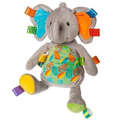 Taggies Little Leaf Elephant Soft Toy Taggies Little Leaf Elephant Soft Toy