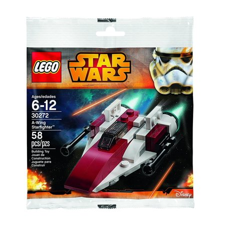 Lego Star Wars A Wing Starfighter Polybag  30272