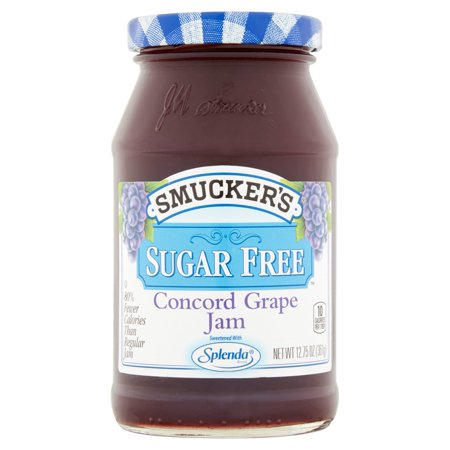 Smuckers Sugar Free Concord Grape Jam  12 75 Oz