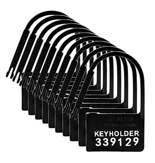 Keyholder 10 Pack Numbered Plastic Chastity Locks