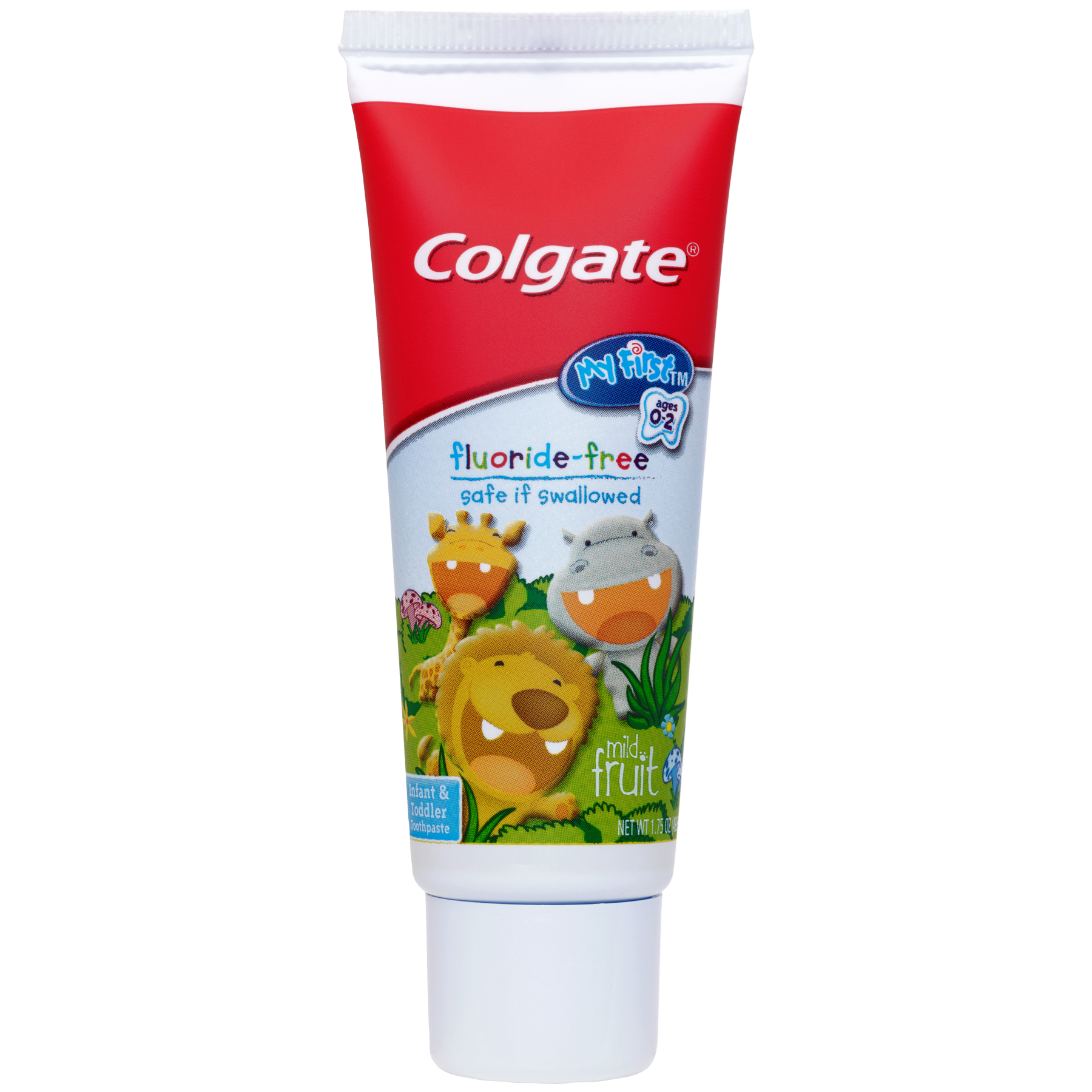 Colgate My First Baby and Toddler Toothpaste, Fluoride Free - 1.75 oz