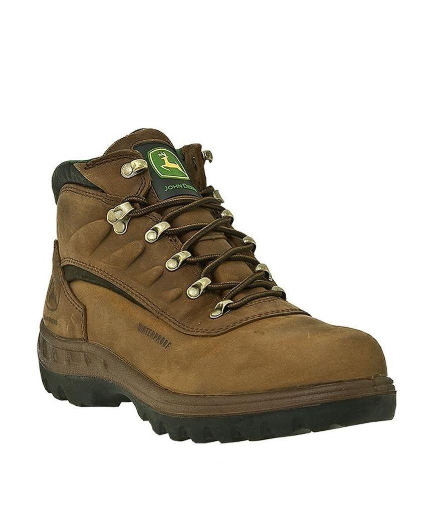John Deere Men's Poplar WCT Waterproof Hiking Boots JD3504 by John Deere