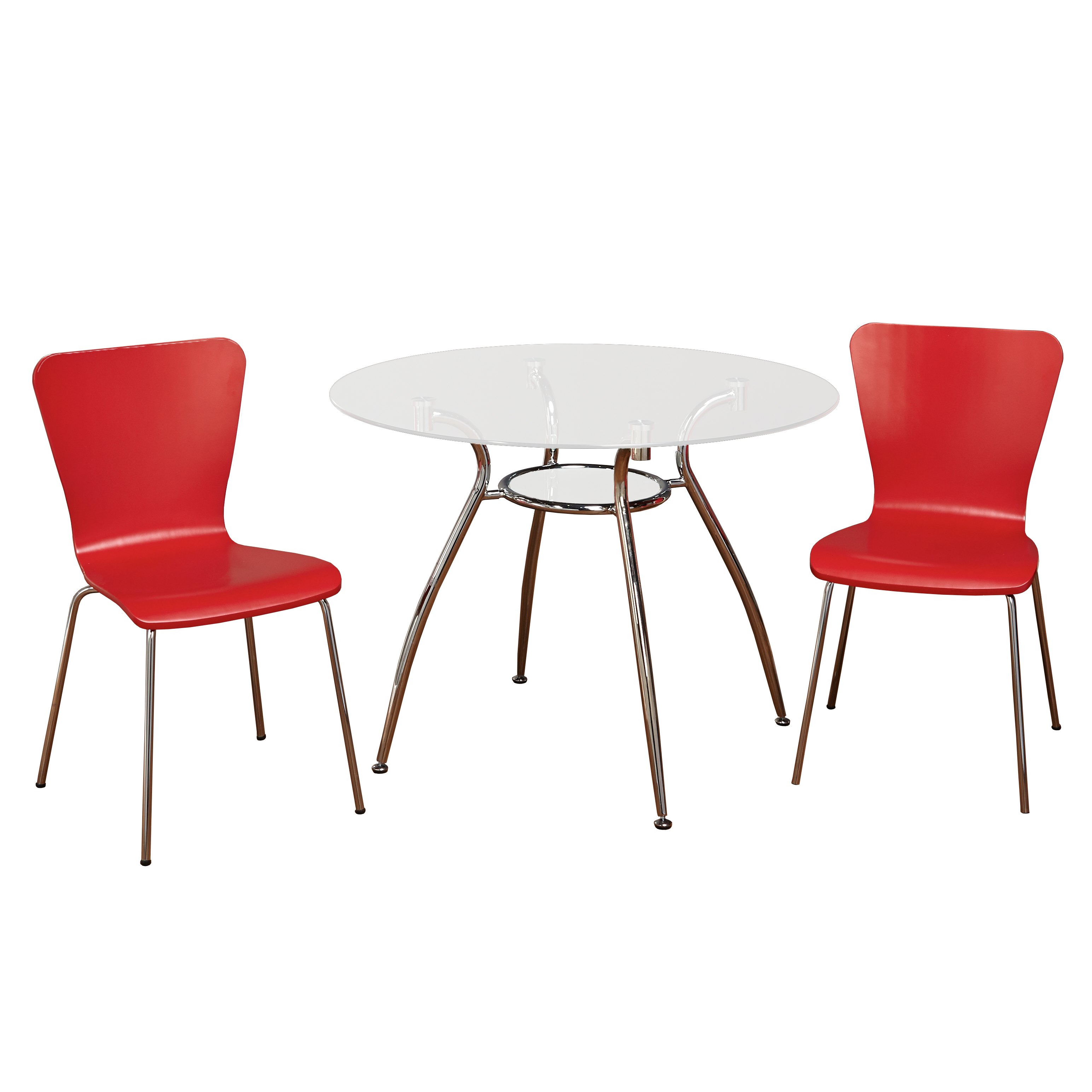 Itza 3-Piece Dining Set, Multiple Colors