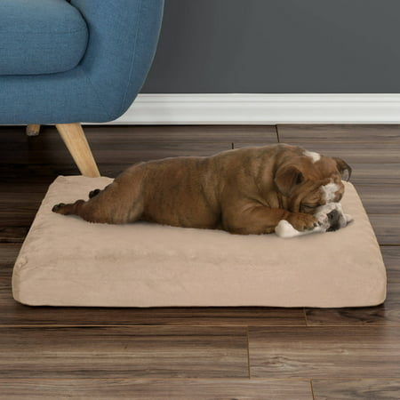 Orthopedic Memory Foam Dog Bed With Removable Cover By