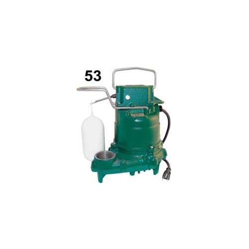 Zoeller 53-0002 Mighty Mate 1/3 HP Manual Submersible Sum...