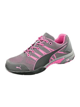 Free shipping. Product Image Puma Safety 642915 Low Cut Celerity Knit Pink  Safety Toe Non Slip Heat Resistant a13914e1a