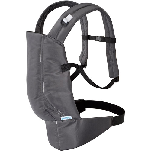 Evenflo Natural Fit Soft Infant Carrier, Boulder by Evenflo
