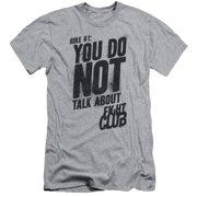 Fight Club Rule 1 Short Sleeve Shirt Adult