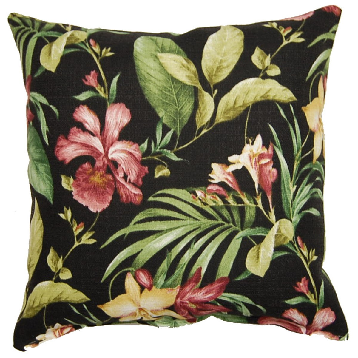 Fox Hill Trading Melanya Midnight 17-inch Outdoor Throw Pillows (Set of 2)