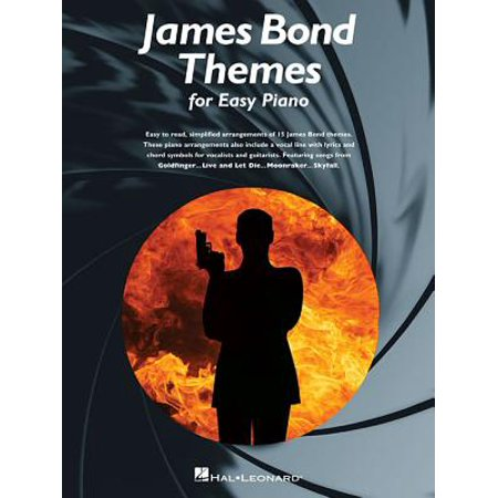 James Bond Themes for Easy Piano (James Bond Main Theme Piano Sheet Music)