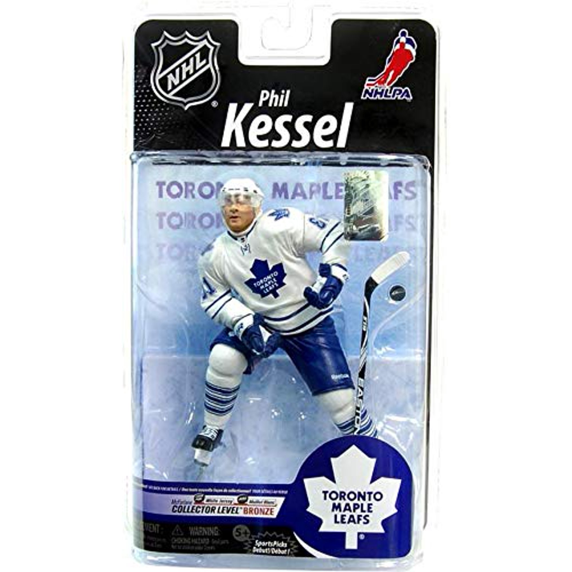wholesale dealer 00ff4 3be0c McFarlane Toys NHL Sports Picks Series 25 Action Figure Phil Kessel  (Toronto Maple Leafs) White Jersey Bronze Collector Level Chase