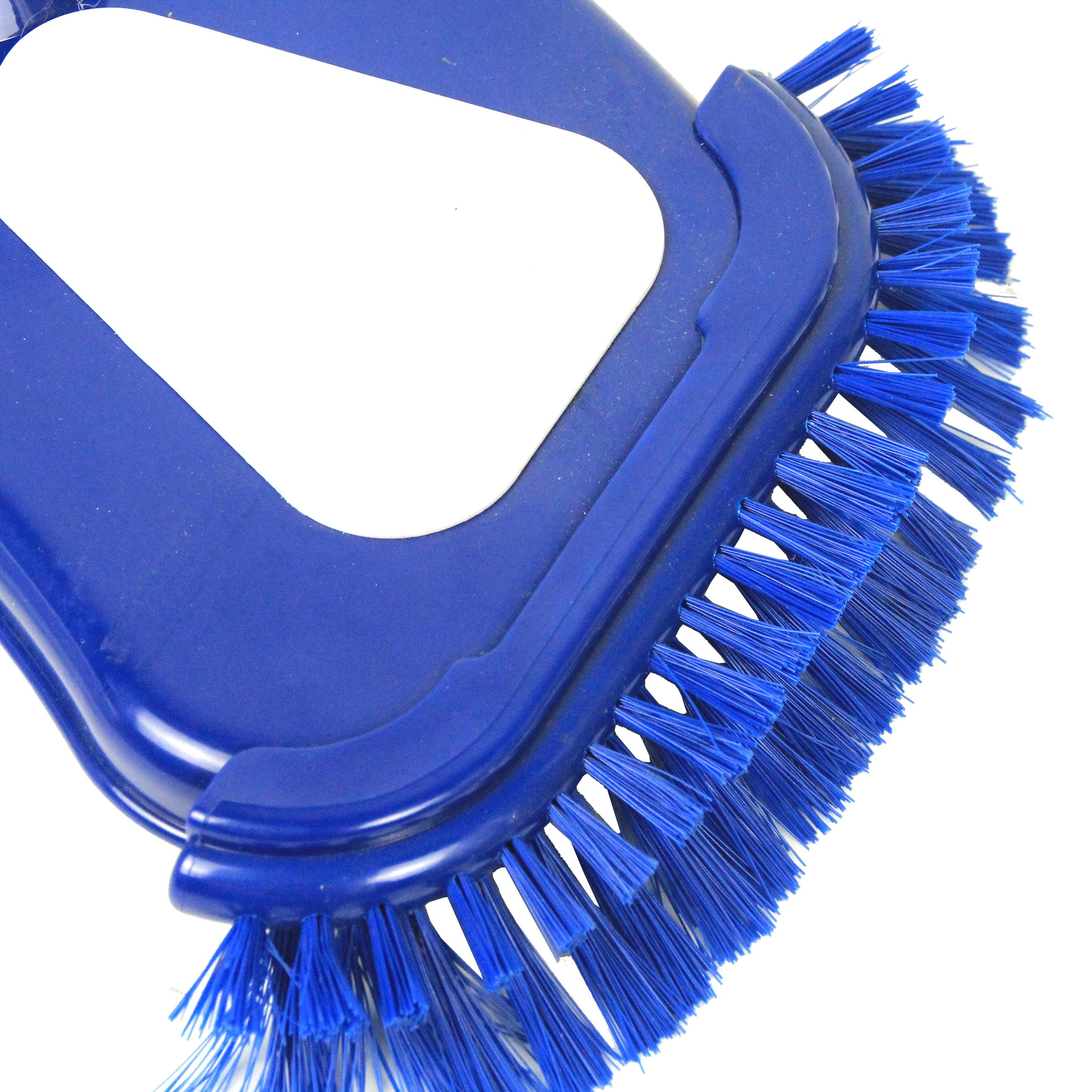 Happy Hot Tubs 3 HEAD SWIMMING POOL Cleaning Kit Triangular Vacuum Head Deep Net Wall Brush