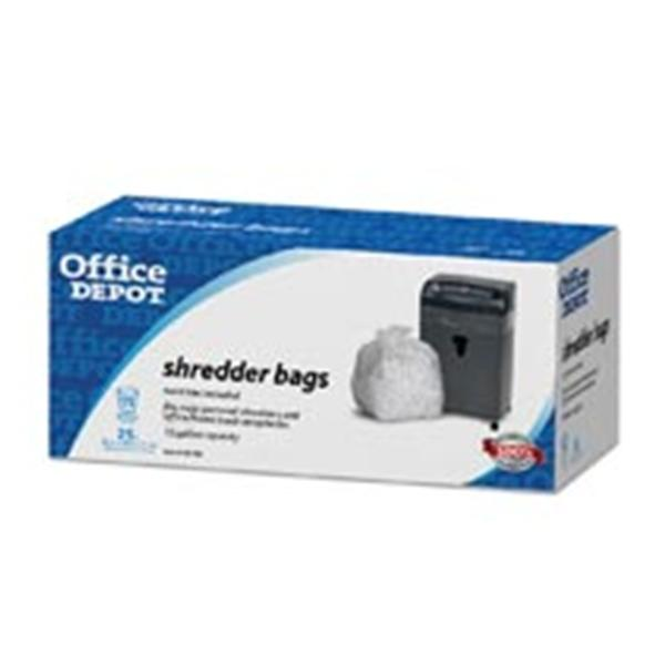 WP000-140704 140704 140704 Shredder Bags 15 Gallons Clear 25/Pk from Office Depot