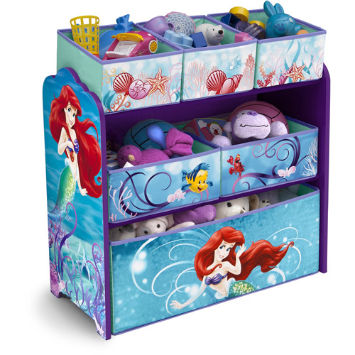 Delta Disney Little Mermaid Multi-Bin Toy Organizer