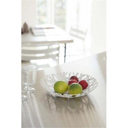 YAMAZAKI home 2497 Coupe - fruits Tower de 10,2 x 10,2 po - Blanc - image 1 de 1
