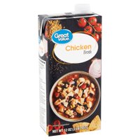 (3 pack) Great Value Chicken Broth, 32 oz