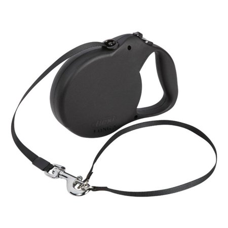 - Flexi CL30T8.250.S Explore Retractable Leash, 26', Black