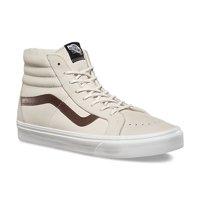 192cd6343a Vans SK8 Hi Reissue Leather Blanc De Blanc Men s Classic Skate Shoes Size 7