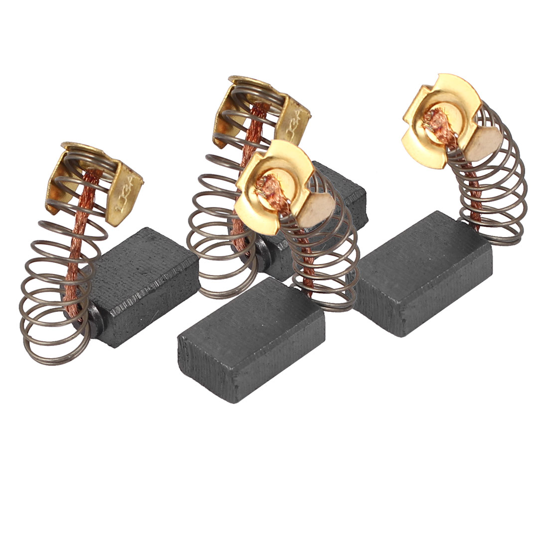 4pcs Replacement Motor Carbon Brushes 15mmx10mmx6mm f Electric Motors