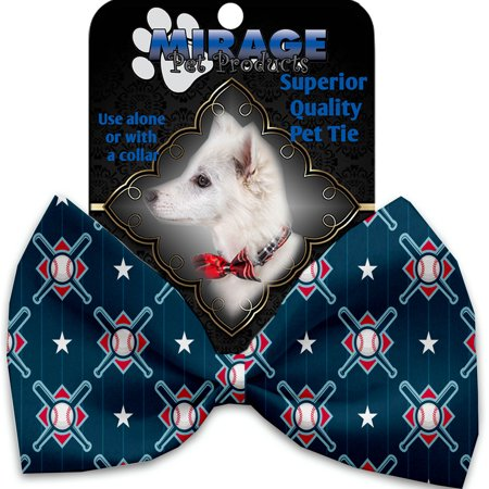 Bats and Balls Pet Bow Tie - Pet Bat