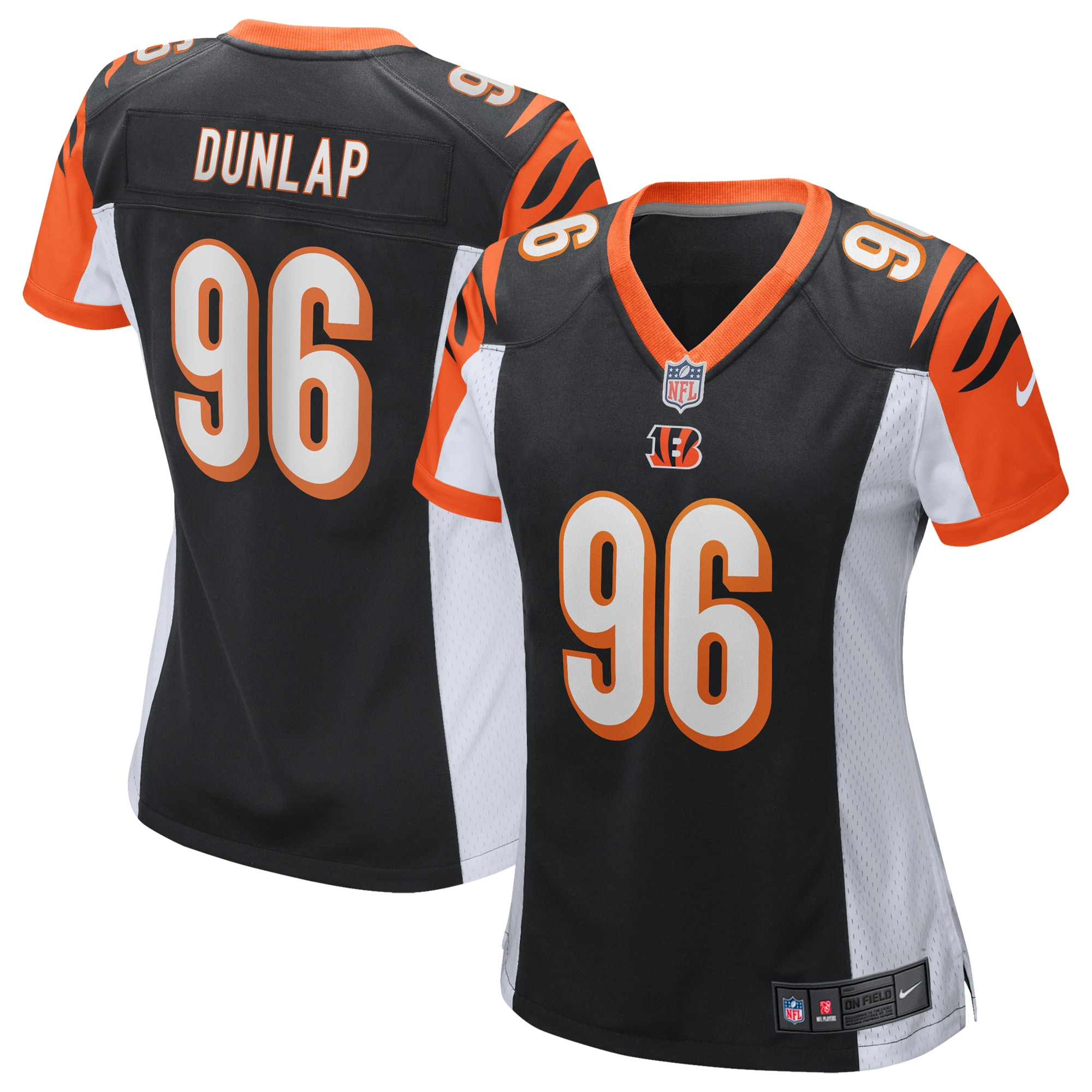 Carlos Dunlap Cincinnati Bengals Nike Women's Game Jersey - Black - Walmart.com